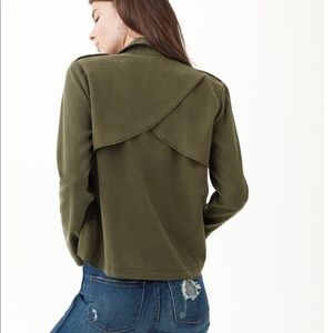 Splendid soft drape front jacket